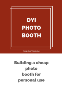 DYI Photo booth