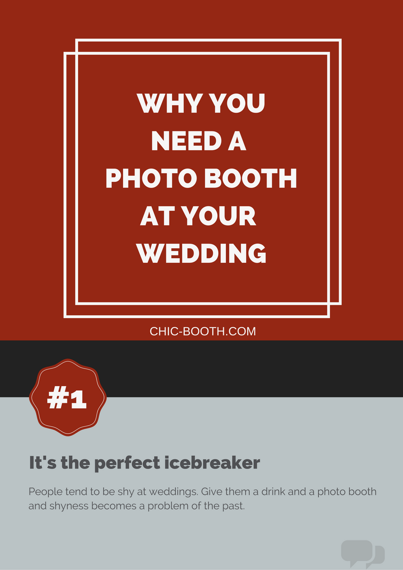 Why You Need a Photo Booth at Your Wedding