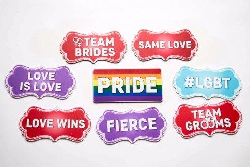 LGBTQ Signs A