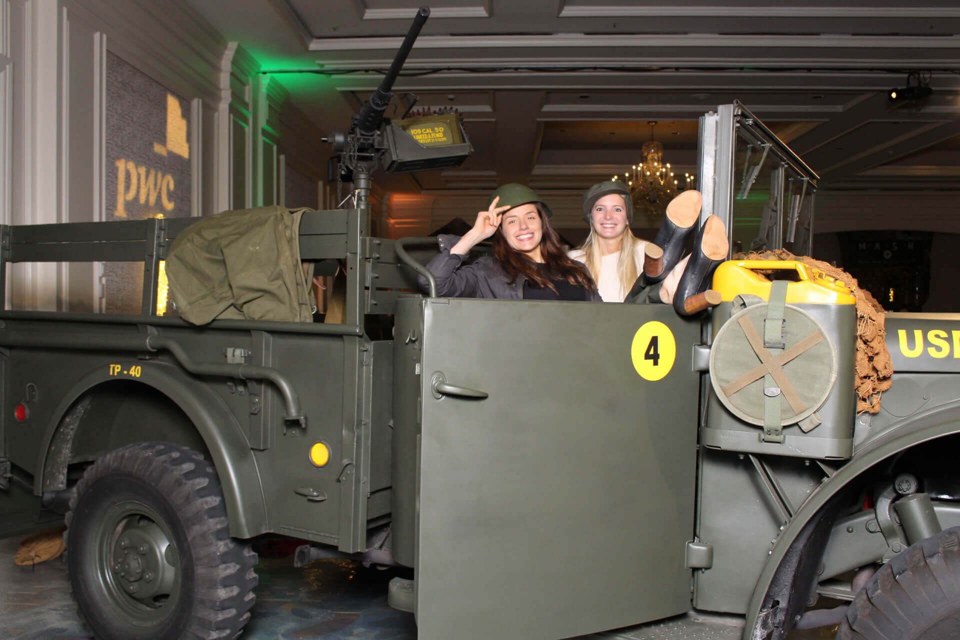 M.A.S.H Party Booth