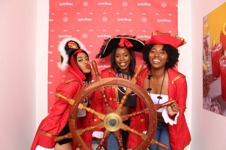 Captain Morgan Activation